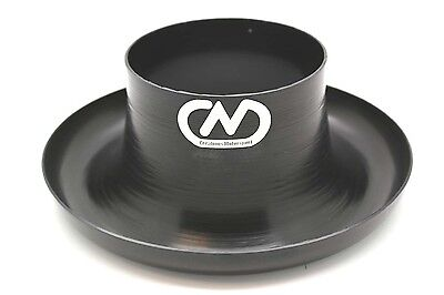 Air Inlet Polished Alloy Ram Pipe Air Inlet Intake Funnel Duct -102mm (4