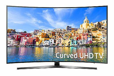 "Samsung 7-Series UN55KU7500 55"" Class UHD Smart Curved LED 4K TV - 3840 x 2160"