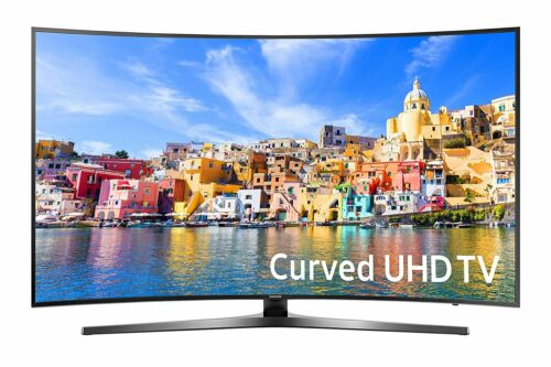 "Samsung 55"" Class (54.6"" Diag.) LED Curved 2160p Smart 4K Ultra HD TV with High Dynamic Range Black UN55KU7500FXZA"
