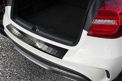 Ladekantenschutz für Mercedes Benz GLA 2013-2018 mit Abkantung Edelstahl