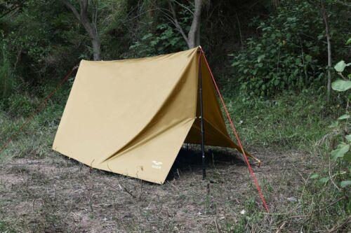 Camping Zeltplane, Tarp für Hängematte, Wasserdicht, Leicht, Kompakt 3m× 3m New