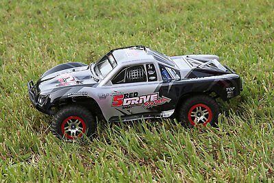 Traxxas Truck Car Body Black 1/10 Slash 4x4 VXL 2WD Slayer S