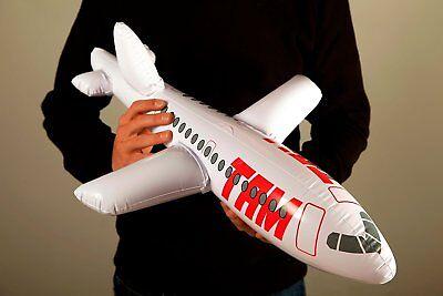 Aufblasbares Flugzeug Flieger Jet Dekoflugzeug Wasserspielzeug Mitgebsel Jumbo