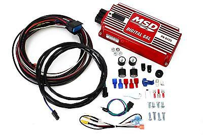 Msd 6al Ignition - MSD 6AL Ignition Box MSD Digital 6AL with Rev Limiter  SBC BBC SBF 6425