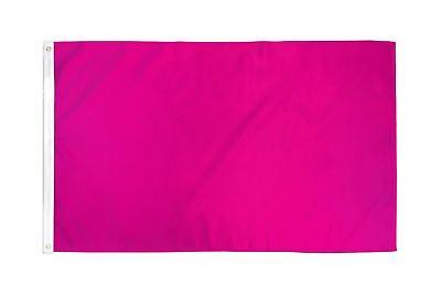 Flag 2 Ornament (Magenta Flag Solid Color Hot Pink Banner Advertising Party Decoration Decor)