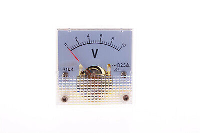 91l4 Ac 0-10v Voltage Analog Panel Meter Mini Voltmeter