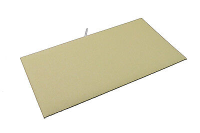 2 X Jewelry Display Pad Insert Linen Velvet Fits Standard Trays Case