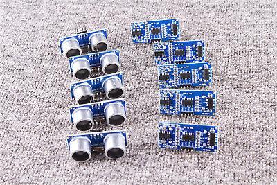 10pcs Ultrasonic Module Distance Measuring Hc-sr04 Transducer Sensor Arduino