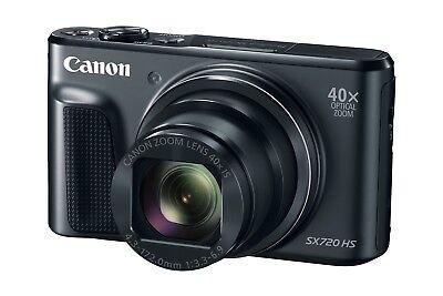 Canon Powershot SX720 HS Digitalkamera mit 40fach Zoom B-Ware SX 720 HS schwarz  Canon Powershot Digital