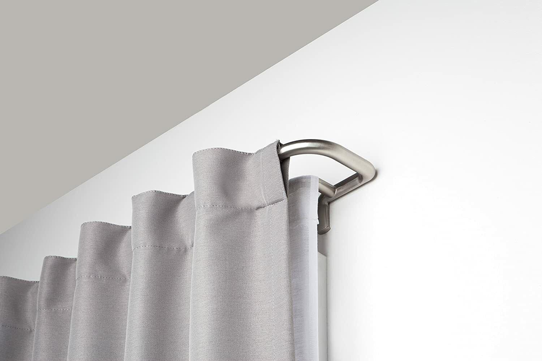 Umbra Twilight Room-Darkening Double Curtain Rod for Window,