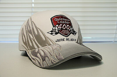 2013 Quicken Loans 400 Hat Cap   Nascar Racing Michigan   Limited Edition Rare