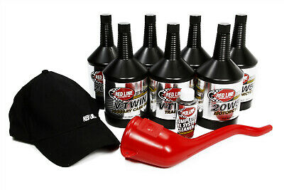 Red Line V-Twin 20W50 Power Pack Motorcycle Big Twin Includes Motor Oil & More
