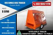 Custom Build Trailer - 8x5 Single Axle Epping Whittlesea Area Preview