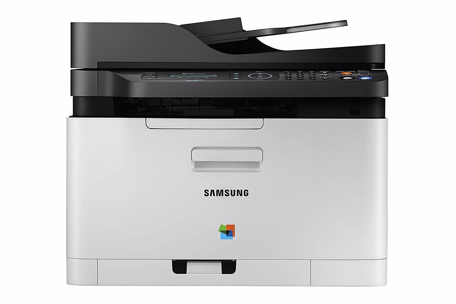 Samsung - Xpress C480FW Wireless Color All-In-One Laser Prin