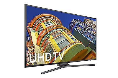 Samsung UN50KU6300 50-Inch 4K Ultra HD Smart LED TV w/ Built-in Wi-Fi & 3 HDMI