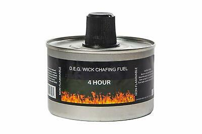 Heat Chafing Dish Fuel Re-usable 4 Hour or 6 Hour Burn time Chafing Dish Fuel