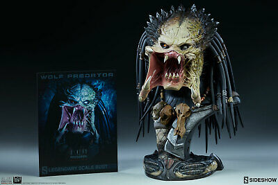 Sideshow Collectibles AVP:R - Wolf Predator Legendary 1/2 Scale Bust - 198/750
