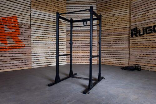 Rugged Power Squat Rack Y100 Gym Weight Equipment- Commercial & Home 1000 lb cap