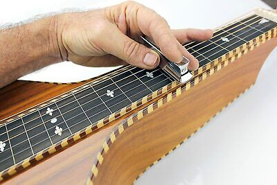 Imperial Valley Guitar Co. Cutaway Roundnose Tone BarSlide for Dobro, Lap Steel Dobro Slide Guitar