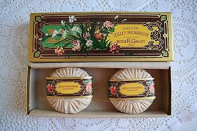 Roger&Gallet Seife * 200 Gramm Carnation* Oilllet-Mignardise* Nelke Vintage Soap
