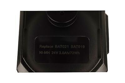 24V 3Ah Schwarz Akku für Bosch 0 611 260 539,GBH 24VRE,GBH 24VSR?BAT019,BAT021