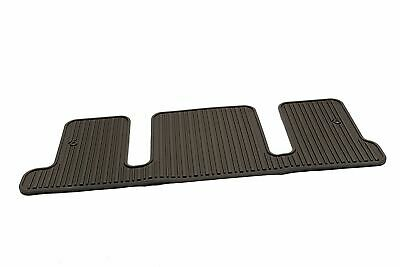 OEM GM Buick Enclave Cocoa Floor Mat 22890488 All Weather 3rd Row Rubber Liner