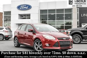 2014 Ford Focus SE HATCH - HEATED SEATS