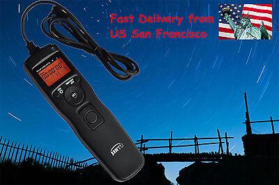 Intervalometer Timer Remote Shutter for Nikon D7200 D7100 D7000 D5500 D5300 D750