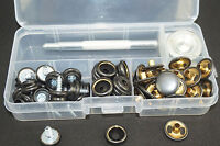 Snap Fasteners - Stainless Steel - Press Studs - For Boat Covers Marine - 20 Set - unbranded - ebay.co.uk