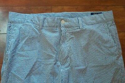 Ralph Lauren Polo Mens Pants SEERSUCKER Stretch Classic Fit Size 34x31