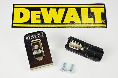 DeWalt Belt Hook & Bit Clip Holder Combo 20v Max  DCD771 DCD780 DCD980 DCD985