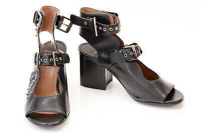 Laurence Dacade black 6.5 36.5 insect embellished strappy sandal shoe NEW $995