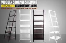 New Wooden Display Wall Rack Ladder Shelf Book Shelf French Style Derrimut Brimbank Area Preview