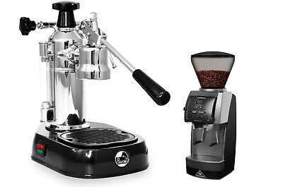 La Pavoni En Europiccola Manual Lever Espresso Machine Mahlkonig Vario Grinder