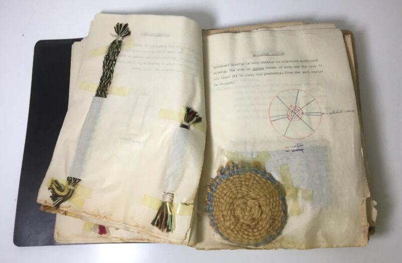 Vintage Weaving And Knot Making Project Book