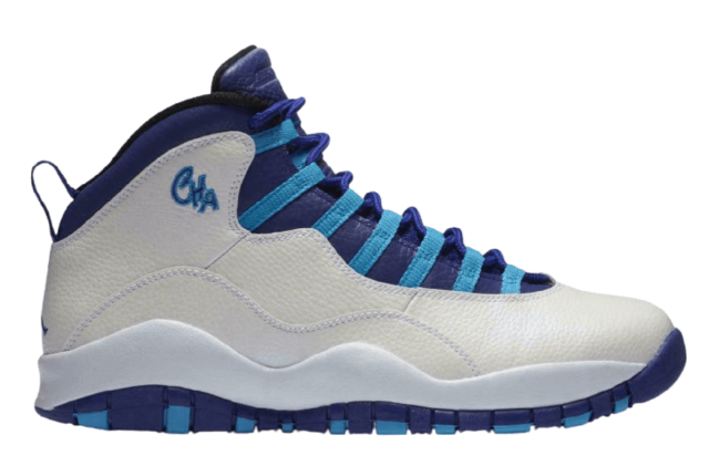 Air jordan 10 Leather Upper Sneakers