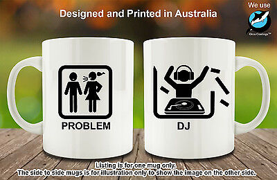 Djing Disc (DJ Disk Jockey DJing Hobby Funny Coffee Mug Funny Birthday gift )