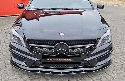 CUP Spoilerlippe für Mercedes CLA W176 45 AMG Frontspoiler Spoilerschwert Lippe