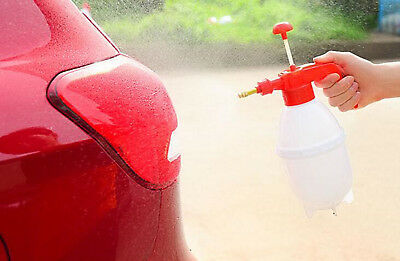 0.8 L Car Washer Hand Pump Pressure Sprayer Bottle Pressurized Solvent Spray Gun