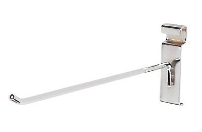 10 Wire Slat Grid Hooks Hook Peg Gridwall 100 Chrome 6mm Tubing 3 Oc Display