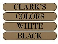 LARGE 9 INCH DECAL CLARK/'S SPOOL CABINET LABEL