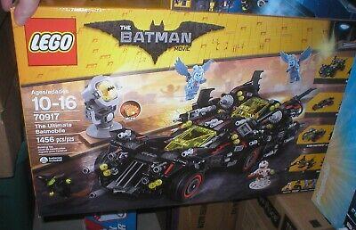 LEGO THE BATMAN MOVIE, ULTIMATE BATMOBILE SET, UNOPENED, SEALED, 1456 PCS.