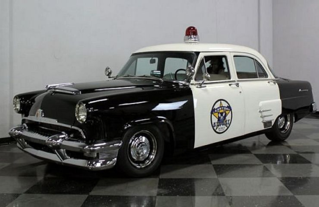 Retro Police Cars