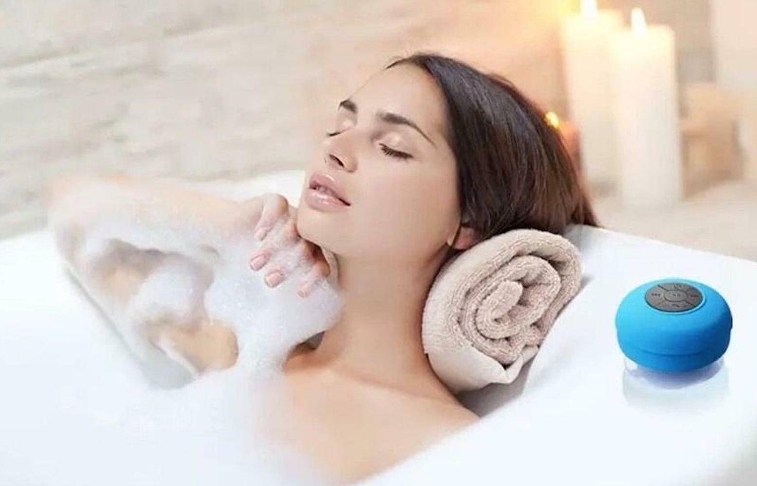 Shower Bathroom Suction cup Wireless Bluetooth SPEAKER Audio