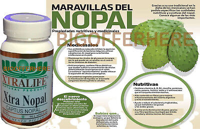 NOPAL CACTUS 90 CAPSULES 1300 MG NOPAL EXTRA NOPAL IMPERIAL ORIGINAL NOPAL