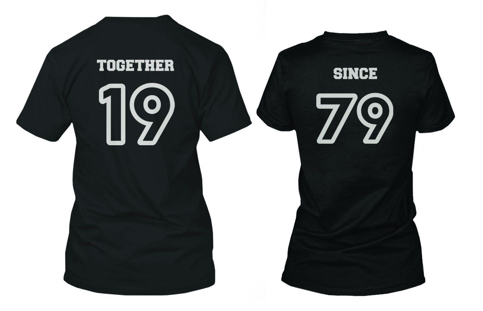 Matching Personalized T-Shirts