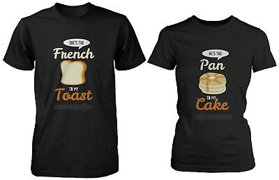 French Toast and Pancake Cute Couple Shirts His and Hers Funny Matching - His And Hers Funny