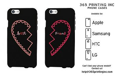 Best Friends Matching Phone Cases - iphone 4 5 5C 6 6+, Galaxy S3 S4 S5, M8,