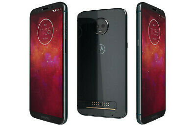 Motorola MOTO Z3 Play | Grade A+ | Unlocked | Deep Indigo | 32 GB | 6 in Screen