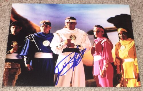 JASON DAVID FRANK SIGNED AUTOGRAPH POWER RANGERS 8x10 PHOTO C w/EXACT PROOF